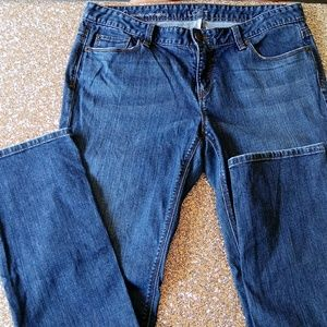 Loft denim Modern Straight Blue Jeans